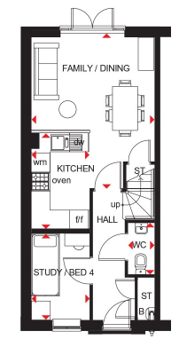 Floorplan 3 of 3: Kingsville gf