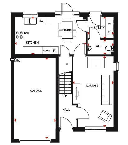 Floorplan 1 of 2: Gf
