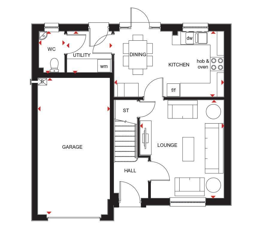 Floorplan: Ff