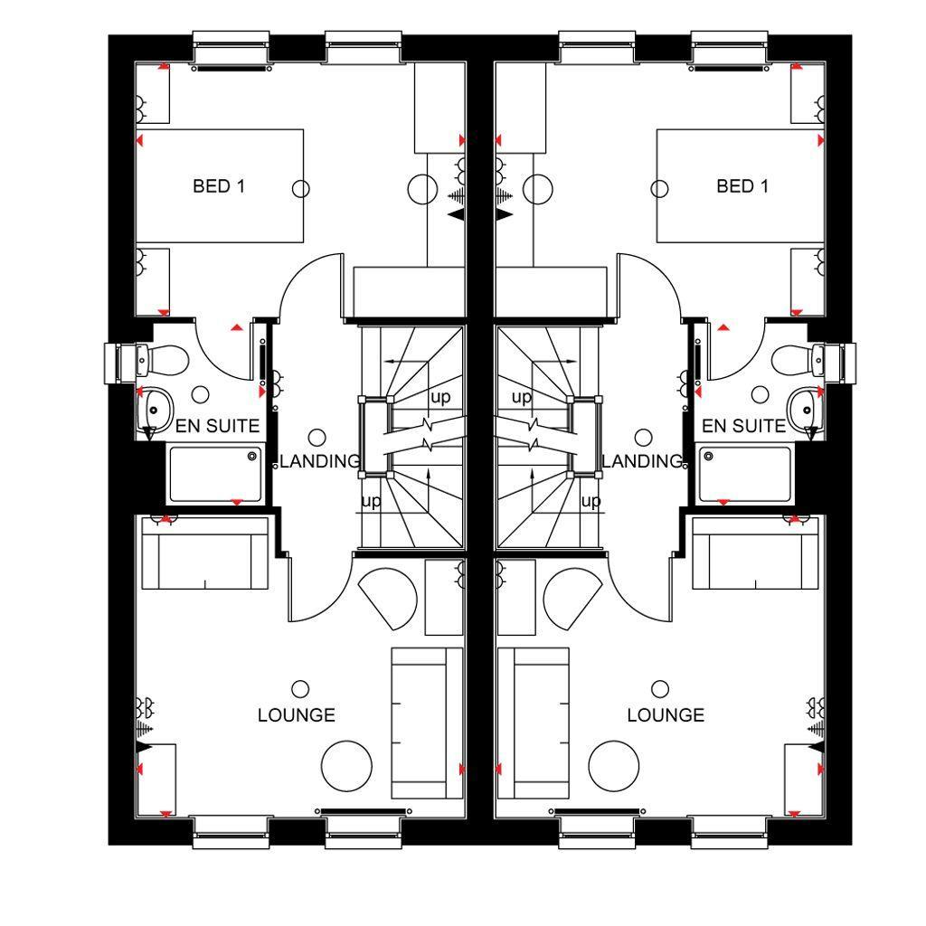 Floorplan 2 of 3: Rochester first floor