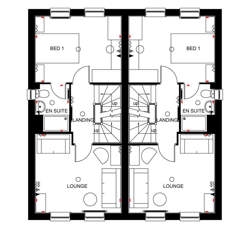 Floorplan 1 of 3: Rochester first floor