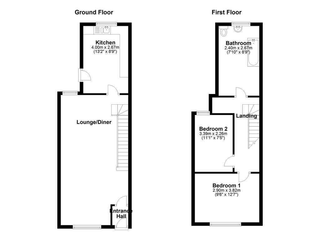 Floorplan 1 of 2: Not Specified
