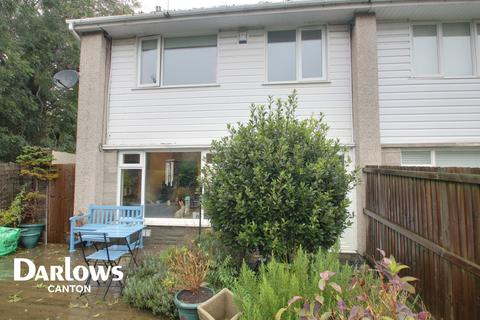 3 bedroom end of terrace house for sale - St Donats Close, DINAS POWYS