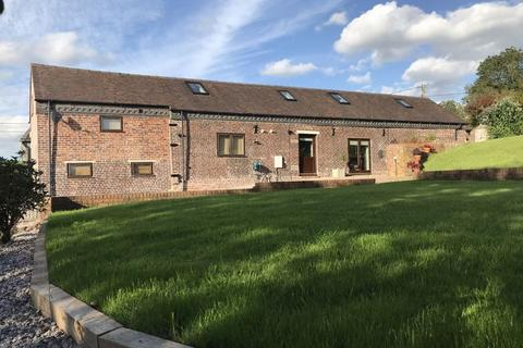 4 bedroom barn conversion for sale - Knenhall, Stone