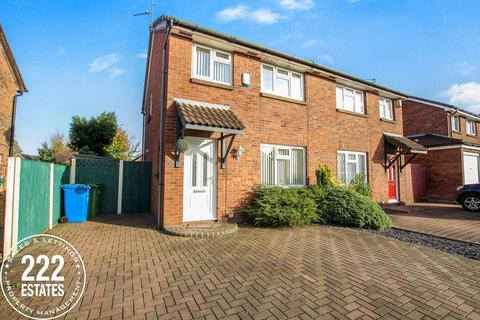 3 bedroom semi-detached house to rent - St Bridgets Close, Fearnhead, Warrington, WA2