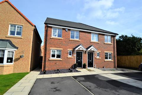 3 bedroom semi-detached house for sale - Abley Close, Middlestone Moor