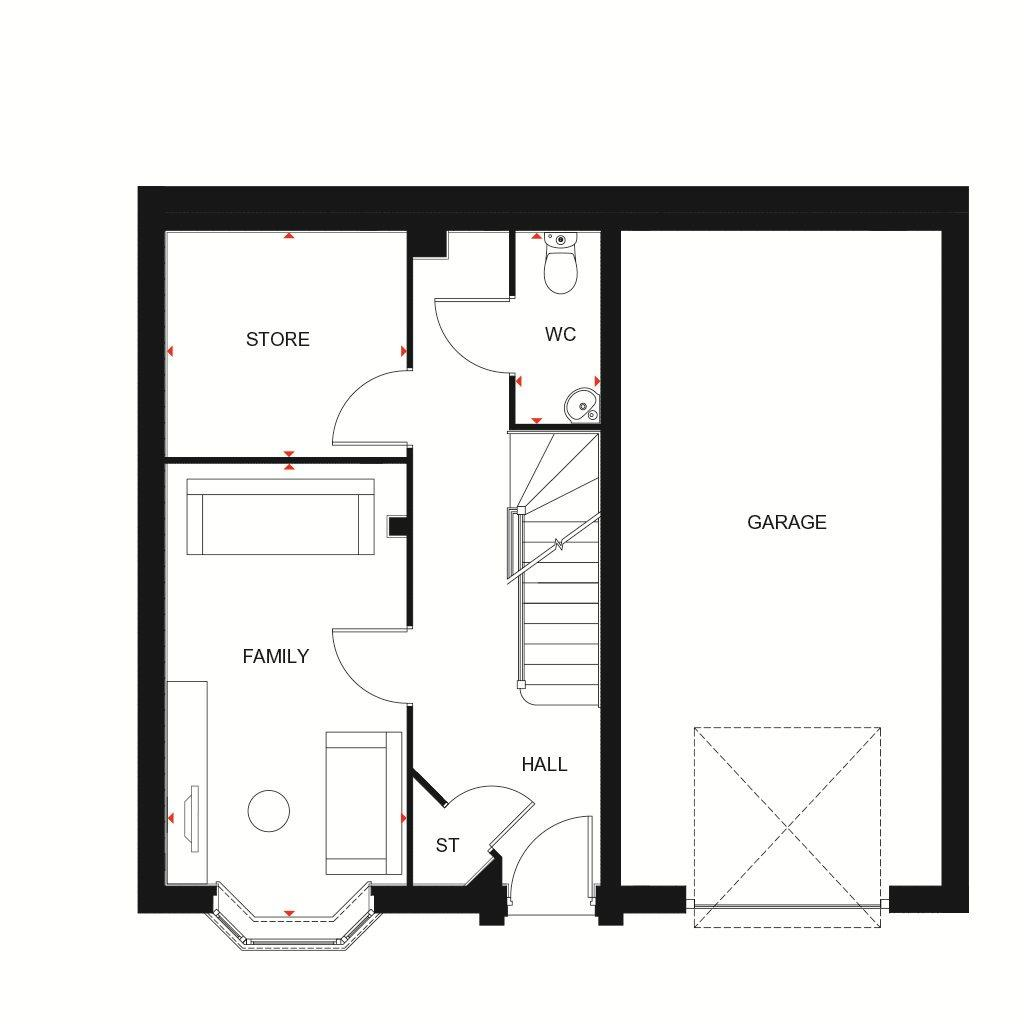 Floorplan 1 of 3: J
