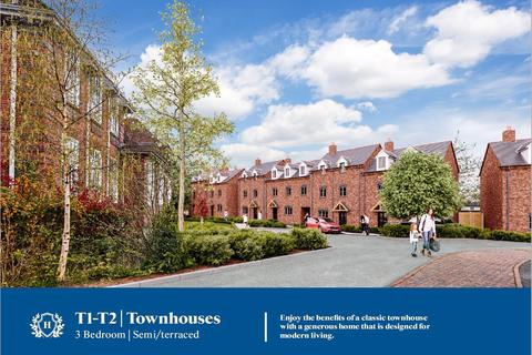 3 bedroom townhouse for sale - Holbache Court, Oswestry
