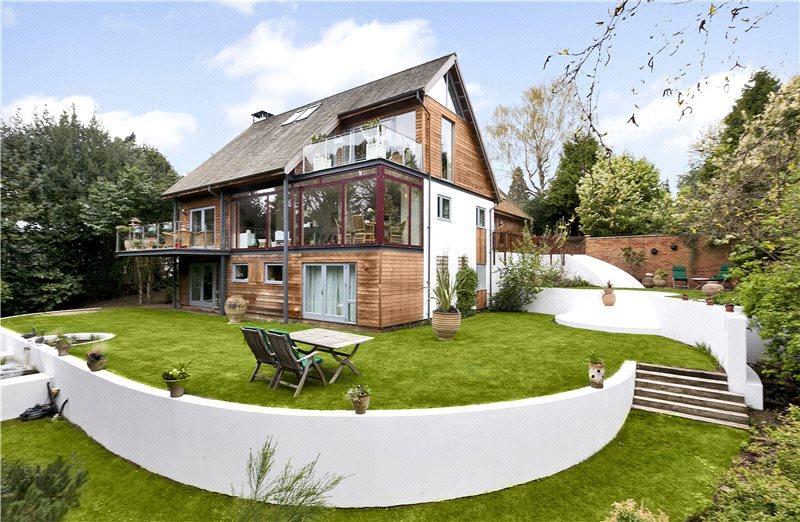 5 Bedrooms Detached House for sale in Holly Walk, Church Road, Aspley Heath, Milton Keynes, MK17