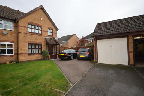 3 bedroom semi-detached house for sale - Fallow Close, Broughton Astley, Leics, LE9 6WZ