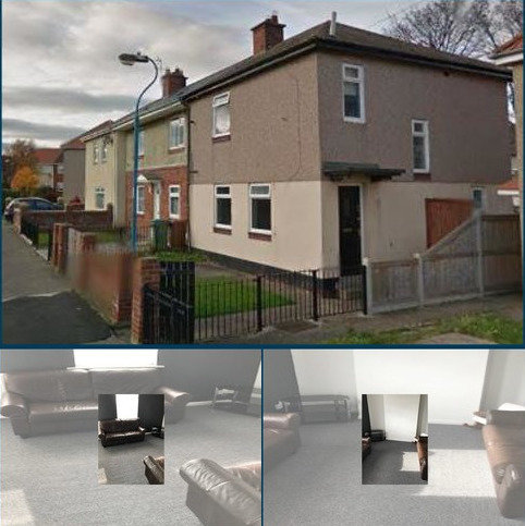3 bedroom end of terrace house to rent - Waverley Terrace, Hartlepool TS25
