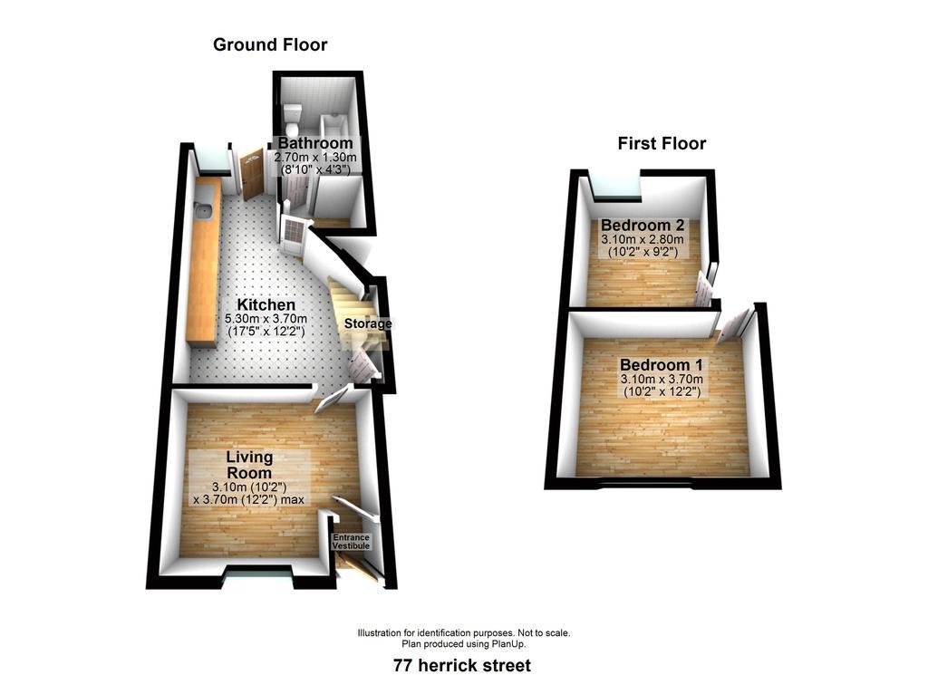 Floorplan: 77 herrick street