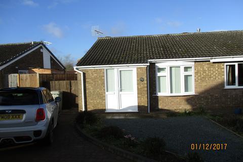 2 bedroom semi-detached bungalow to rent - Dove Close, Oakham LE15