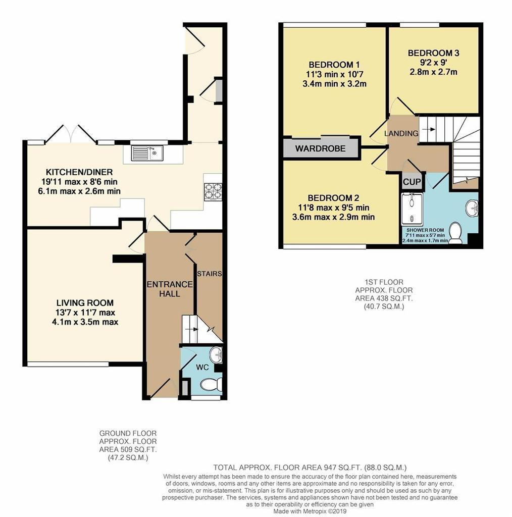 Floorplan: 13 Woodside, King's Lynn.JPG