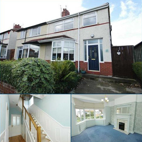 3 bedroom semi-detached house for sale - Lyndhurst Road, Whitley Bay