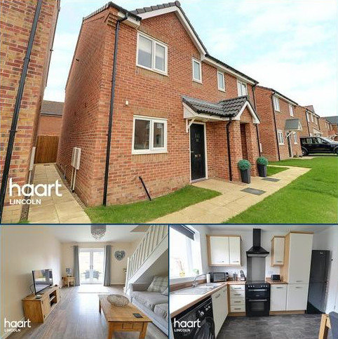 2 bedroom semi-detached house for sale - Cow Pasture Way, Lincoln