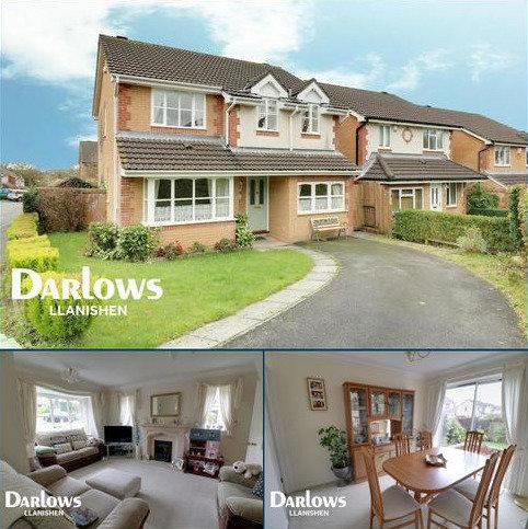 4 bedroom detached house for sale - Clos Nant Mwlan, Pontprennau, Cardiff, CF23