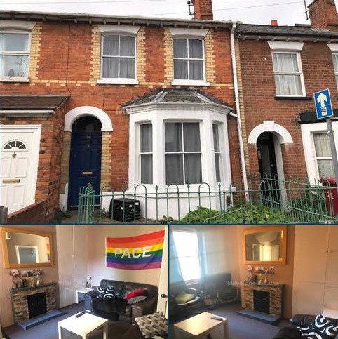 4 bedroom terraced house to rent - Blenheim Road, Reading, RG1 5NQ