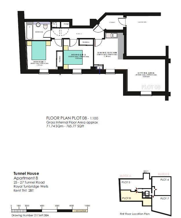 Floorplan: Flat 8
