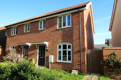 3 bedroom semi-detached house for sale - Binyon Close, Stowmarket, IP14