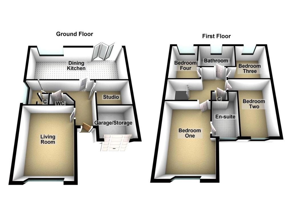 Floorplan: 50 Rosewood Close, North Shields (1).JPG