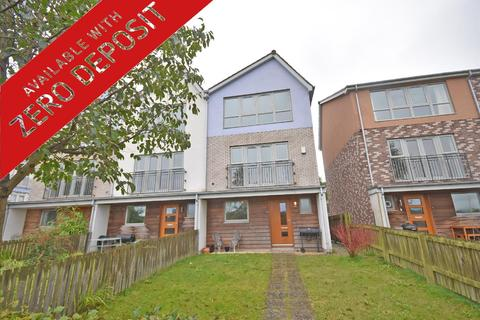4 bedroom townhouse to rent - Riverside Row, The Staithes, Gateshead