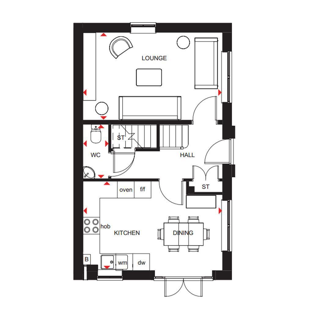 Floorplan 1 of 2: Ennerdale ground floor plan