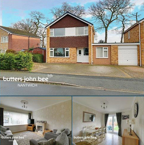 4 bedroom detached house for sale - Murrayfield Drive, Willaston