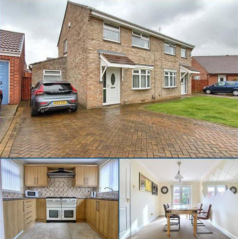 3 bedroom semi-detached house for sale - Saxonfield, Coulby Newham