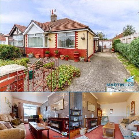 2 bedroom semi-detached bungalow for sale - Bowness Avenue, Thornton
