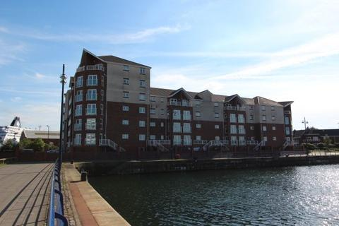 2 bedroom apartment to rent - Commissioners Wharf, North Shields.  NE29 6DP.  ** PRIVATE RIVER FRONT PATIO GARDEN **
