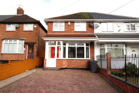 3 bedroom semi-detached house to rent - Delhurst Road, Birmingham, B44