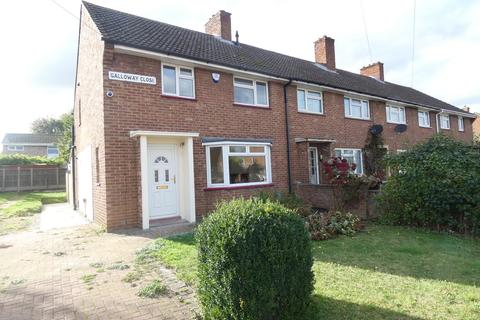3 bedroom end of terrace house to rent - Galloway Close, Kempston