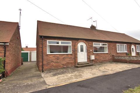 2 bedroom semi-detached bungalow for sale - Bempton Close, Bridlington