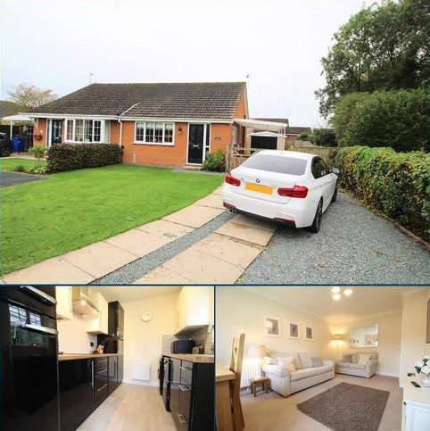 2 bedroom semi-detached bungalow for sale - Oaklands, Hutton Cranswick