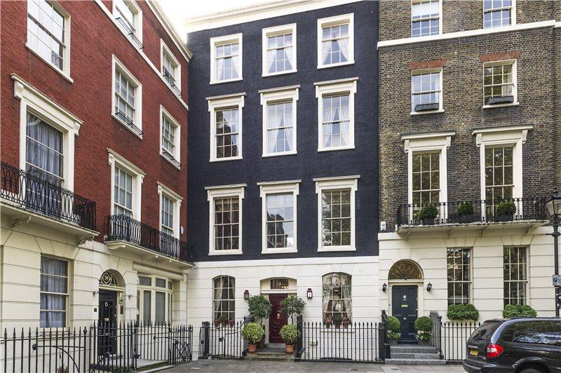 6 Bedrooms House for sale in Connaught Square, Hyde Park Estate, Connaught Village, London, W2
