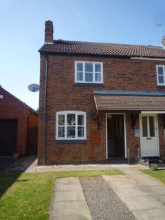 2 bedroom semi-detached house to rent - Thornhills Grove, Narborough, Leicester, LE19