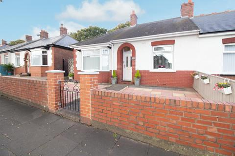 2 bedroom semi-detached bungalow for sale - Queen Alexandra Road West, North Shields
