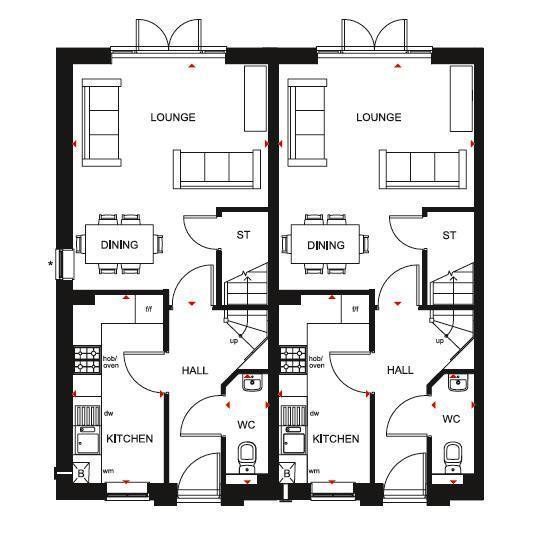 Floorplan 3 of 3: Norbury ground floor plan