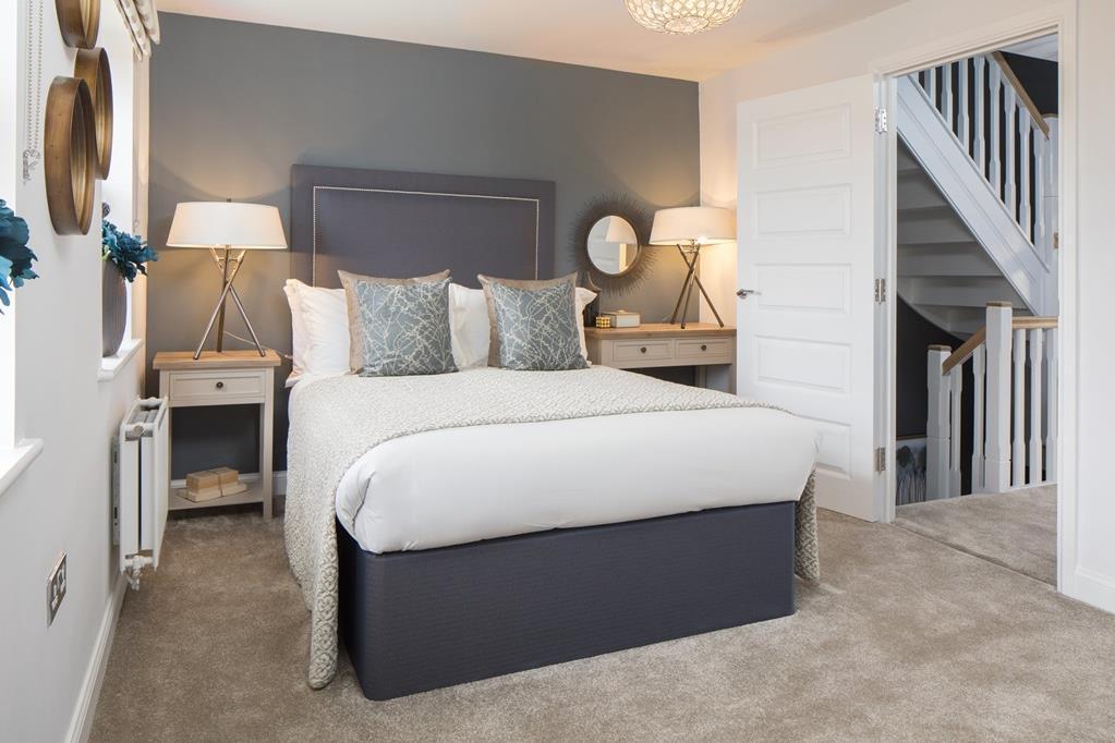 Norbury double bedroom