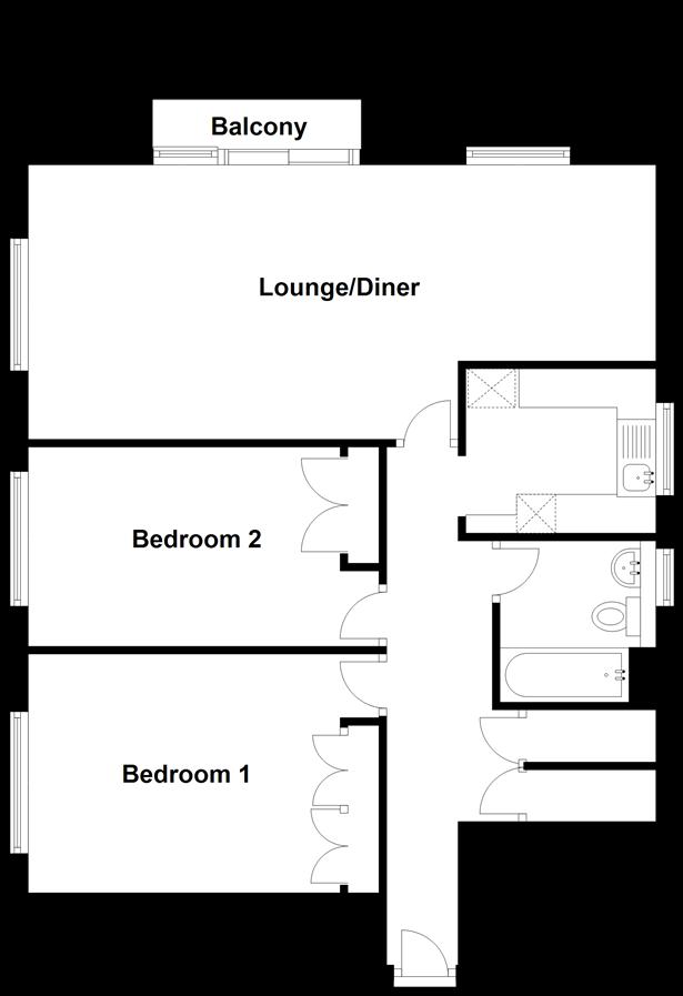 Floorplan: Third Floor