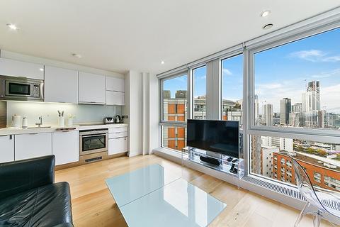 Studio to rent - Ontario Tower, Fairmont Avenue, Nr Canary Wharf, London, E14