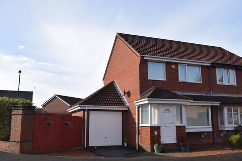 2 bedroom semi-detached house for sale - Woodcroft Close, Annitsford, Cramlington, Tyne and Wear, NE23 7UF