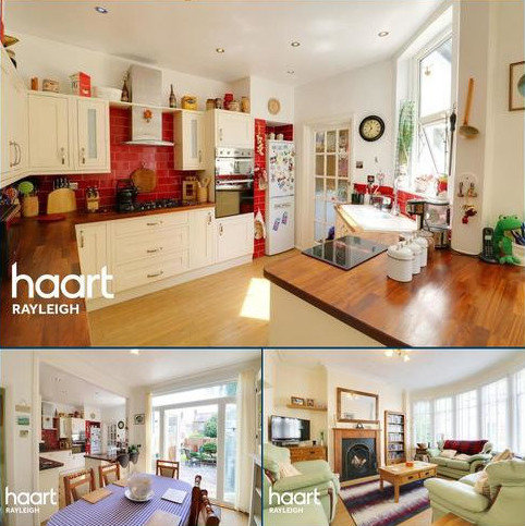 3 bedroom terraced house to rent - Brightwell Avenue, Westcliff-On-Sea