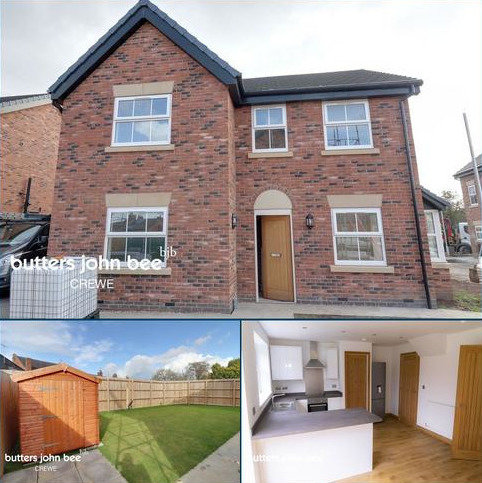 4 bedroom detached house for sale - Brittania Close, Coppenhall, Crewe