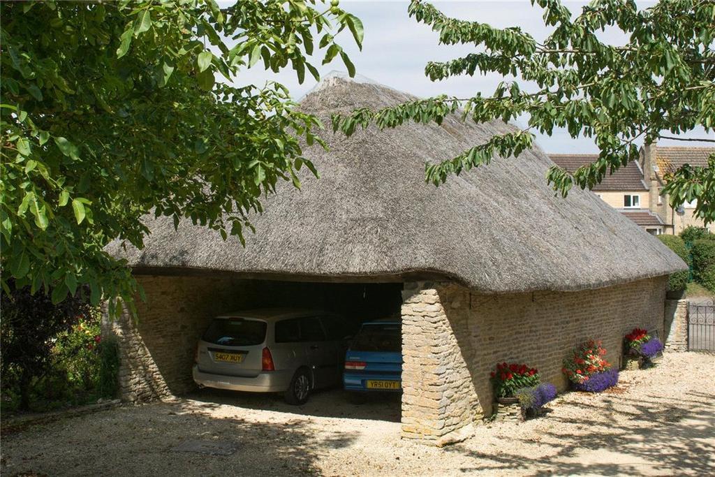 Thatched Garage
