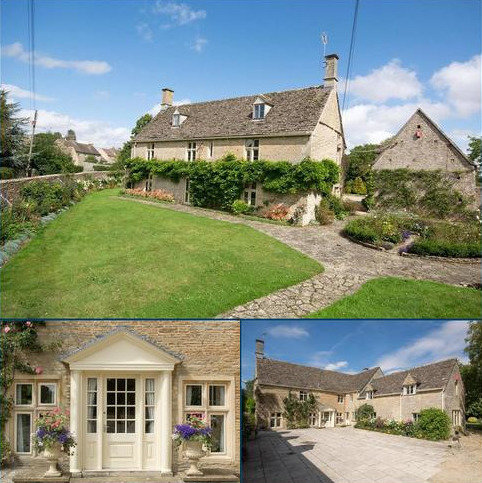 6 bedroom detached house for sale - Marston Meysey, Cricklade, Wiltshire, SN6