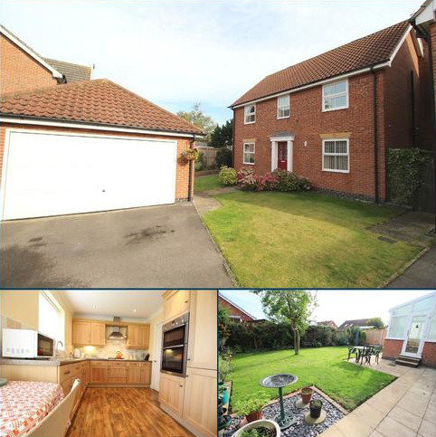 4 bedroom detached house for sale - Rectory View, Beeford