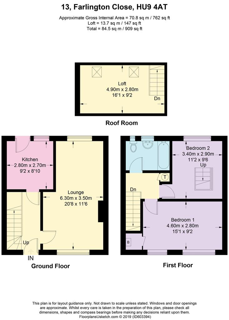 Floorplan: Farlington Close