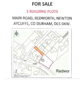 Land for sale - Main Road, Redworth, Newton Aycliffe